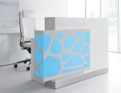 Crazy Stone Reception Desk Blue Light