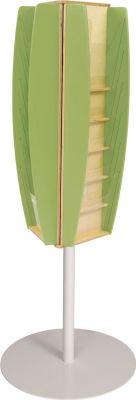 Colour Way Leaflet Dispenser Lime Green