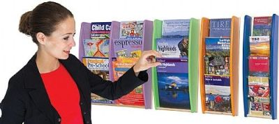 Colourway Wall Mounted Leaflet Dispenser