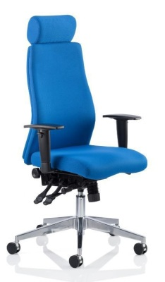 Onyx With Headrest Blue