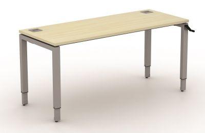 Avalon Height Adjustable Bench Desk 600mm Deep