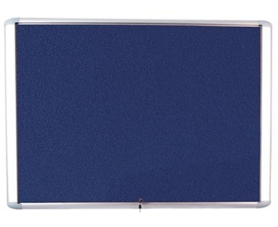 Bio Top Hinged Lockable Noticeboard 2