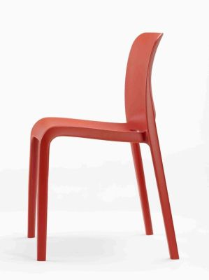 POP Red General Purpose Polypropylene Chair