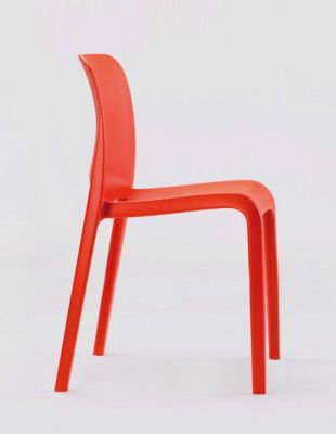 POP Red Lightweight Chair