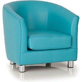 Light Blue Tritium Tub Chair