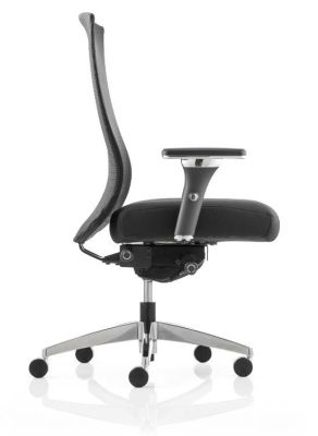 Telsa Mesh Task Chair Side View