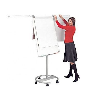 Mobile Pro Flip Chart Easle With Magnetic Side Arms And Paper Flip Chart