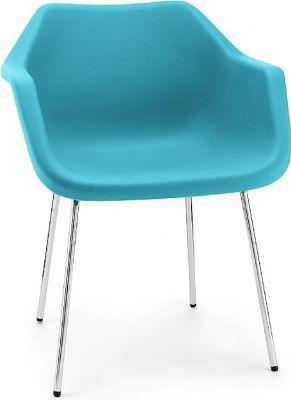 Robin Day Poly Tub Chair Light Blue