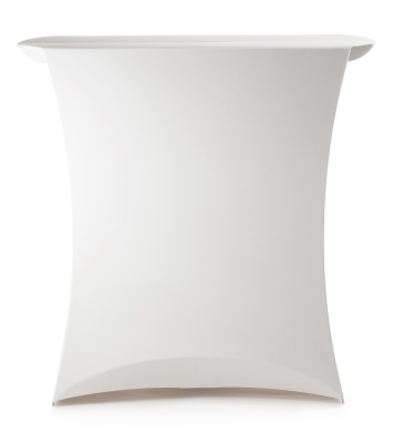 Flux Folding Counter In White From Front