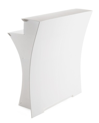 Flux Folding Bar In White Front View