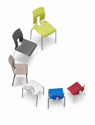 Sesame Poly Chairs Group