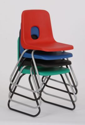 Ethel Poly Chairs Stacked 2