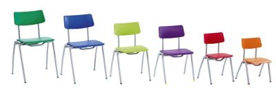 Bellos Classroom Chair Sizes