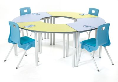Ms Contemporary Arc Tables In A Circle