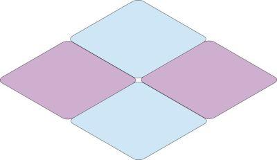 Diamond Four Table Combination