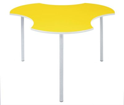 Sagu Modular Table Yellow Top