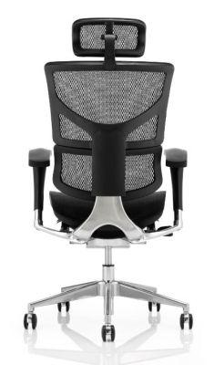 Ergo D Mesh Chair Black Frame Rear View