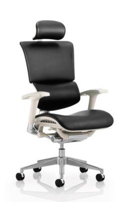 Ergo D Ergonomic 24 Hour Task Chair With A Grey Frame