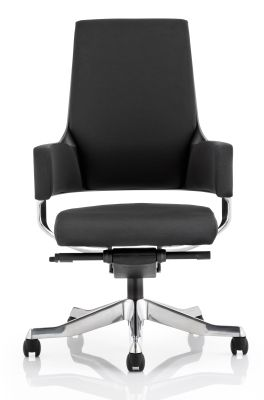 Starlight Black Fabric Designer Executive Chair