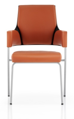 Starlight Tan Lleather Visitors Chair