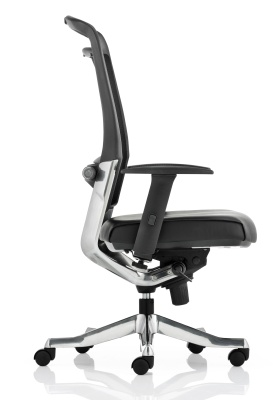 Alfonso High Back Mesh Task Chair Side View