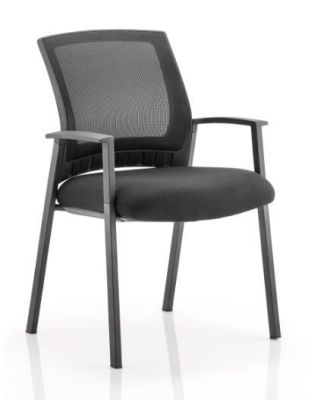 Socket Mesh Armchair Front Angle