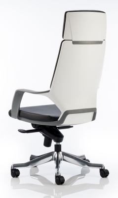 Carbon High Back Executive Chair Blue Fabric