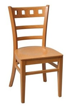 Alphine Dining Chair Oak Finish