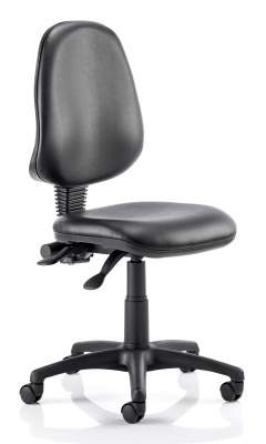 Twilight Operator Chair In Black Vnyl