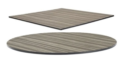 Zebrano HP Laminate Tops