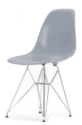 Eames Dsr Chair Grey