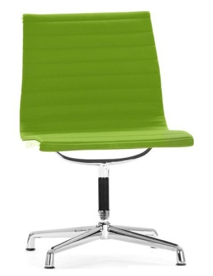 Aria Conference Chair Green Leather