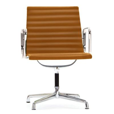 Aria Conference Chair With Arms Tan Leather