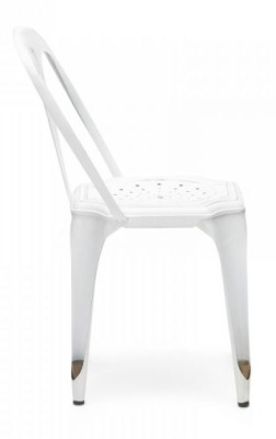 Les Meubles Vintage Chair Win White Side View