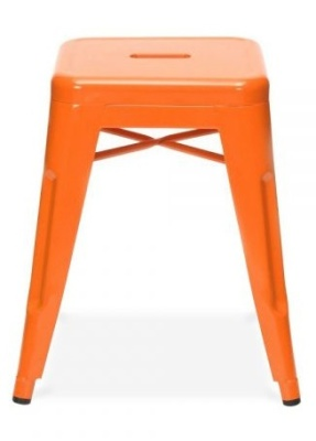 Tollix V4 Low Stool In Orange