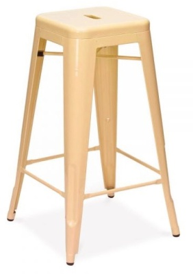 Xavier High Stool Peach Finish