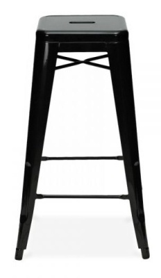 Xavier Pauchard 650mm High Stool In Black
