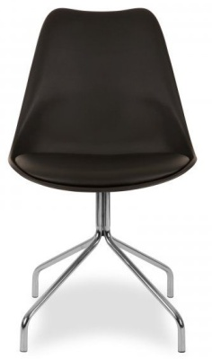 Lacro Poly Chair In Black Facing