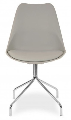 Lacro Poly Chair In Grey Facing