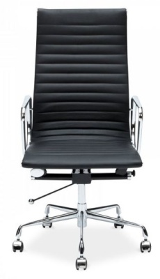 Aria Black Leather Executive Chair