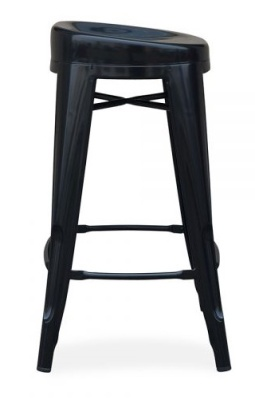 Xavier Pauchrd Low Stool With A Round Seat Side View