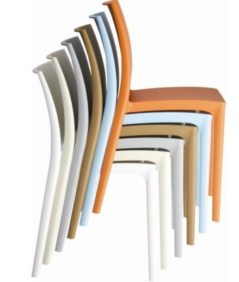 Stack Of Maya Chairs