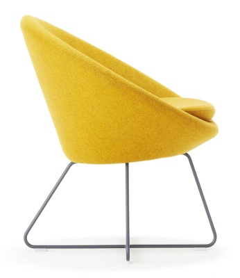 Conijc Designer Lounge Chair Side View