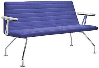 Moody 100 Designer Sofa Front Angle