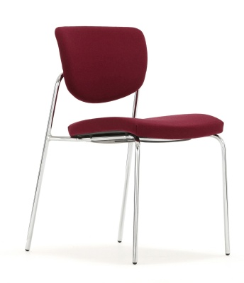 Contour Chair Fully Upholstered Frongt Angle
