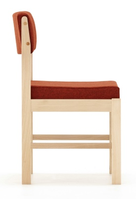 Consort Wooden Framed Chair Side View