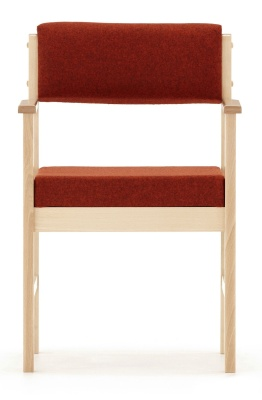 Consort Wooden Framed Armchair Front Facing