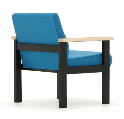 Stella Low Chair With Arms Reverse Angle