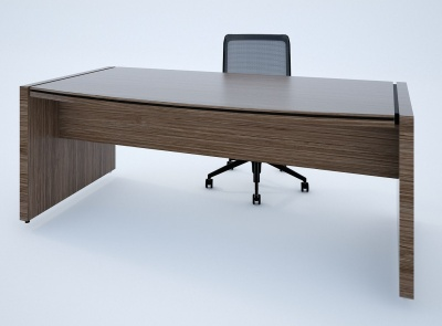 Stratus Executive Desk Front View