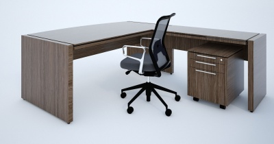 Stratus Executive Desk And Return User Side
